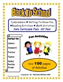 Back to School Get-To-Know You + Math & Literacy Packet (Kindergarten – First)