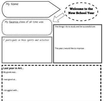 Getting To Know You Activities Middle School & Worksheets ...