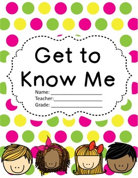 "Back to School ""Get to Know Me"""