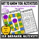 Back to School - Get to Know You Activities