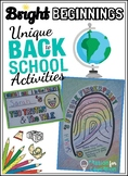 Back to School ~ Get to Know You Activities ~ Team Buildin