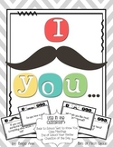 I Mustache You a Question - Class Meetings, Question of the Day, Back to School