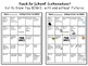 Back to School Get to Know You Bingo with Pictures Grades 2-5 ESL