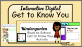 Back to School | Get to Know You Digital Activity