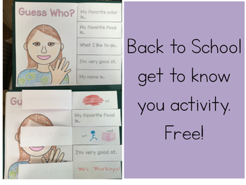 Back to School Get to Know You: Free!
