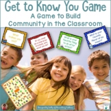 Back to School Get to Know You Game (With Brain Breaks)