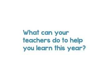 Back to School Get to Know You Questions