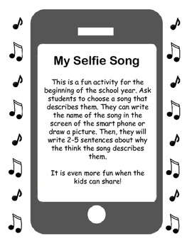 Back to School Get to Know You | Selfie Song