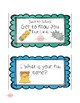 Back to School Get to Know You Task Cards
