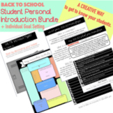 Back to School: Get to Know Your Students Activity Pack