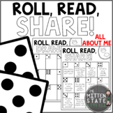 Back to School Get to Know you Activity and Game: All About Me