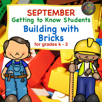 Getting to Know Students Through Building Bricks  STEM Challenges