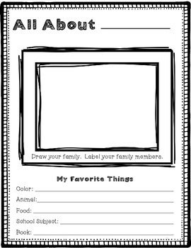 Getting to Know You Class Book {A Back to School Activity}