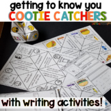 Getting to Know You Activities | Back to School | Cootie Catchers!