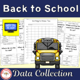 Back to School Getting to Know You Data Collections and Graphs
