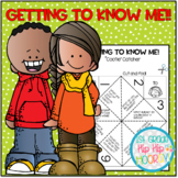 Back to School...Getting to Know You FREEBIE!