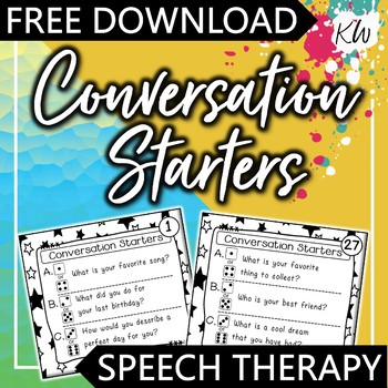 Getting to Know You - Ice Breaker Freebie!