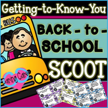 Back to School: Getting-to-Know-You SCOOT!