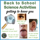 Back to School Science Activities: Getting to Know You