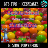 Back to School Skittle Game {Icebreaker}