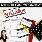 Back to School Getting-to-Know-You Stations