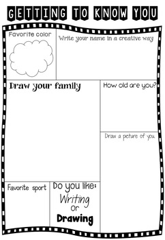 Back to School - Getting to know your Students + Parent Information