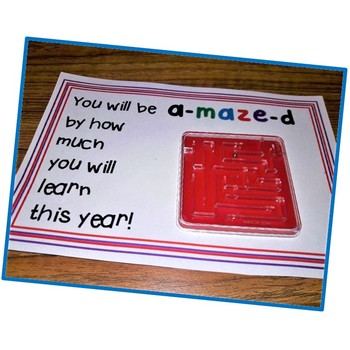 Back to School Gift Be a maze d Printable FREE
