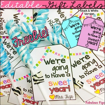 Back to School Gift Label