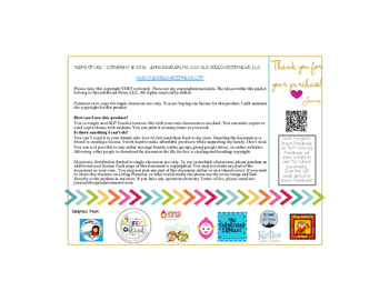 Back to School Gift Tag Freebie: Hop into a great Year!