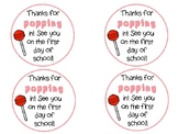 Back to School Gift Tag (Lollipop)