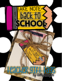 Back to School Gift Tag - Pencil