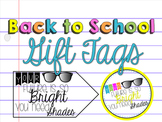 Back to School Gift Tag - Your Future is Bright