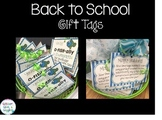 Back to School Gift Tag for Students Freebie
