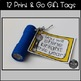 Back to School Gift Tags {12 Options}