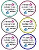 Back to School Gift Tags- Bubbling with Excitement!