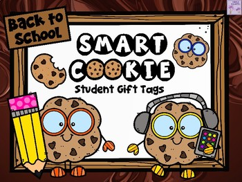 Back to School Gift Tags - SMART COOKIE
