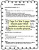 All About Me Back to School Digital Poster Lesson Plan