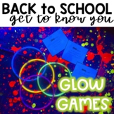 Back to School Glow Games