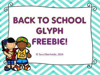 Back to School Glyph -Freebie