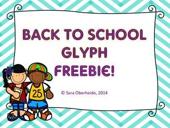 Back to School Glyph -Freebie