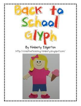 Back to School Glyph Fun