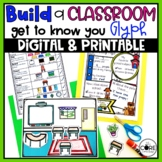 Back to School Glyph   Get to Know You Glyph for the First