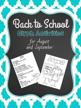 Back to School Glyphs