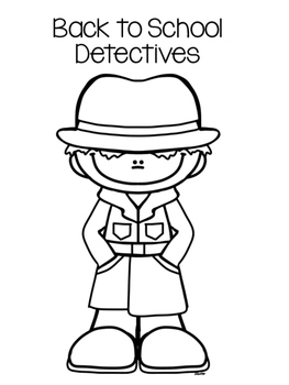 Back to School Glyphs - Detective Theme