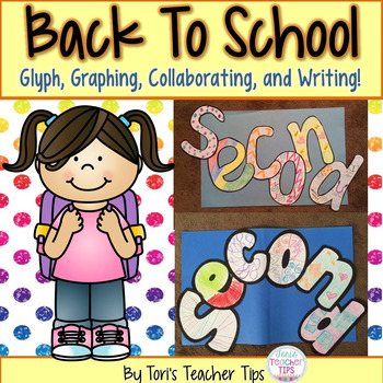Back to School Glyphs~Graphs~and More! {second grade}