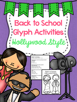 Back to School Glyphs - Hollywood Theme