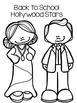 Back to School Glyphs - Hollywood Theme