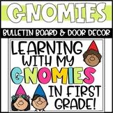 Spring Gnome Bulletin Board or Door Decoration