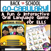 ESL Games and Activities: Back to School ELL Oral Language Game