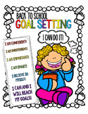 Back to School Goal Setting